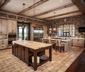 Lovely Rustic Western Style Kitchen Decorations Ideas 32