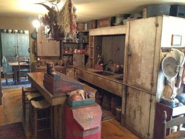 Lovely Rustic Western Style Kitchen Decorations Ideas 37