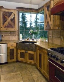 Lovely Rustic Western Style Kitchen Decorations Ideas 39