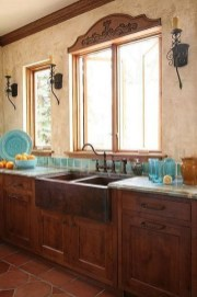 Lovely Rustic Western Style Kitchen Decorations Ideas 42