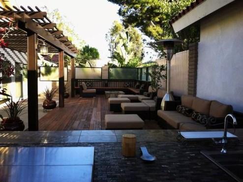Modern Patio On Backyard Ideas25