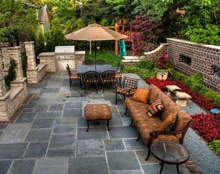 Modern Patio On Backyard Ideas37
