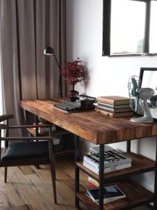 Simple Desk Workspace Design Ideas 05