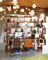 Simple Desk Workspace Design Ideas 13