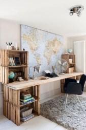 Simple Desk Workspace Design Ideas 17