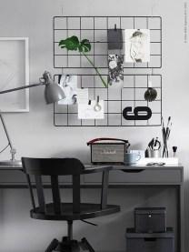 Simple Desk Workspace Design Ideas 22