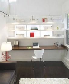 Simple Desk Workspace Design Ideas 25
