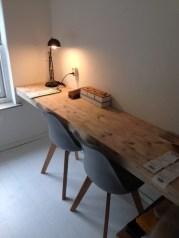 Simple Desk Workspace Design Ideas 32