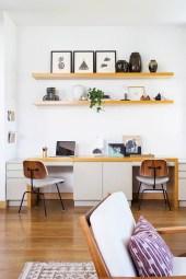 Simple Desk Workspace Design Ideas 40