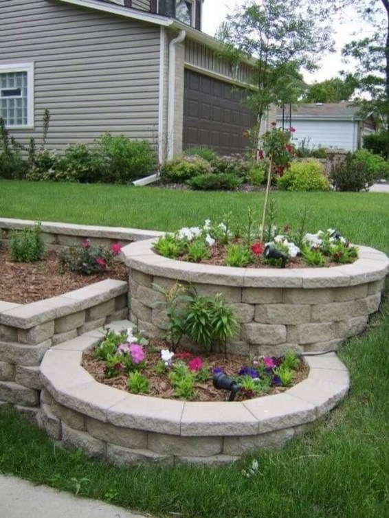 Wonderful Landscaping Front Yard Ideas42