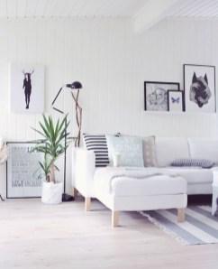 Wonderful Scandinavian Livingroom Decorations Ideas19