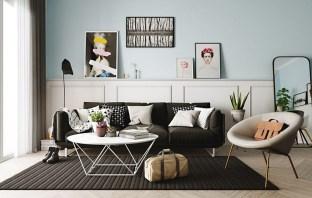Wonderful Scandinavian Livingroom Decorations Ideas34