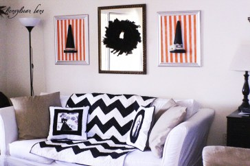 Attractive Diy Halloween Living Room Decoration Ideas03