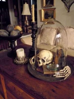 Attractive Diy Halloween Living Room Decoration Ideas26