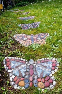 Awesome Diy Garden Path Inspiration Ideas02