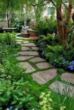 Awesome Diy Garden Path Inspiration Ideas05