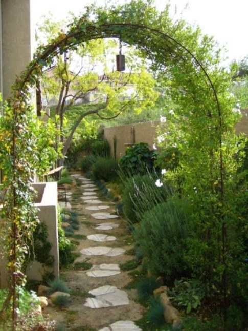 Awesome Diy Garden Path Inspiration Ideas10