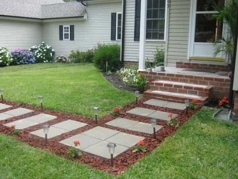 Awesome Diy Garden Path Inspiration Ideas13