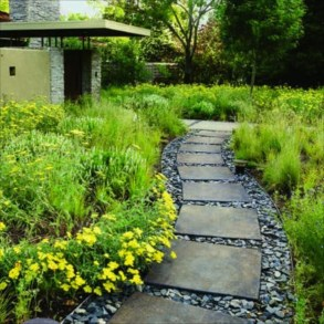 Awesome Diy Garden Path Inspiration Ideas19