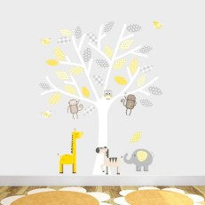 Charming Wall Sticker Babys Room Ideas01