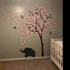 Charming Wall Sticker Babys Room Ideas05