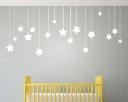 Charming Wall Sticker Babys Room Ideas13
