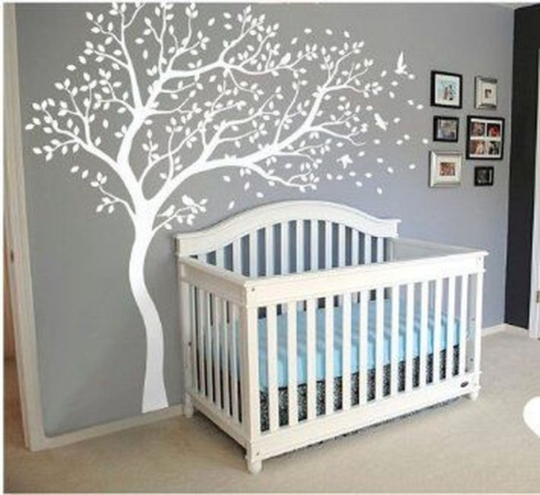 Charming Wall Sticker Babys Room Ideas16