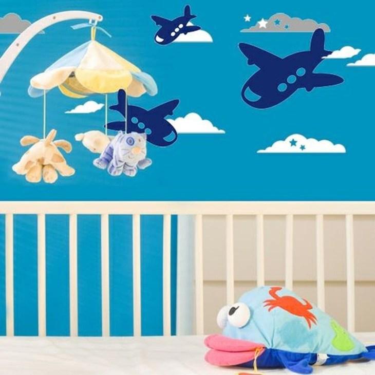 Charming Wall Sticker Babys Room Ideas34