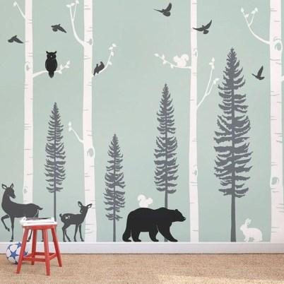 Charming Wall Sticker Babys Room Ideas35