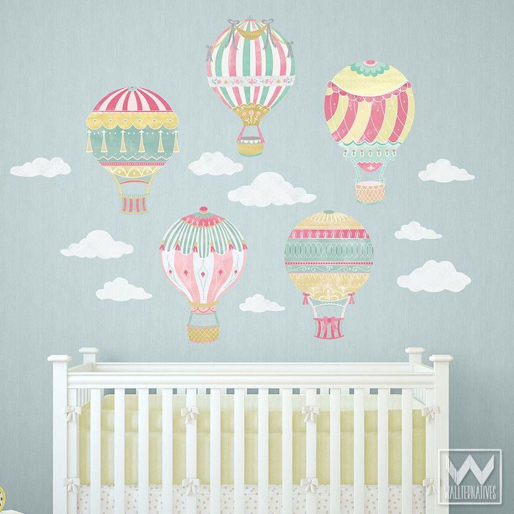 Charming Wall Sticker Babys Room Ideas44