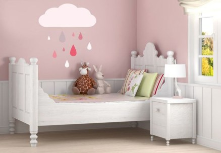 Charming Wall Sticker Babys Room Ideas46