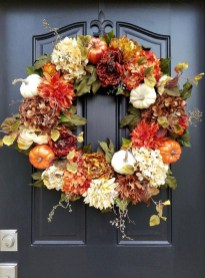Cheap Iy Fall Wreaths Ideas02