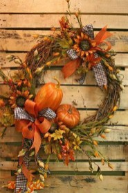 Cheap Iy Fall Wreaths Ideas04
