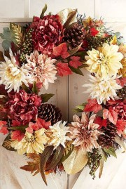 Cheap Iy Fall Wreaths Ideas13