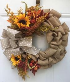 Cheap Iy Fall Wreaths Ideas19