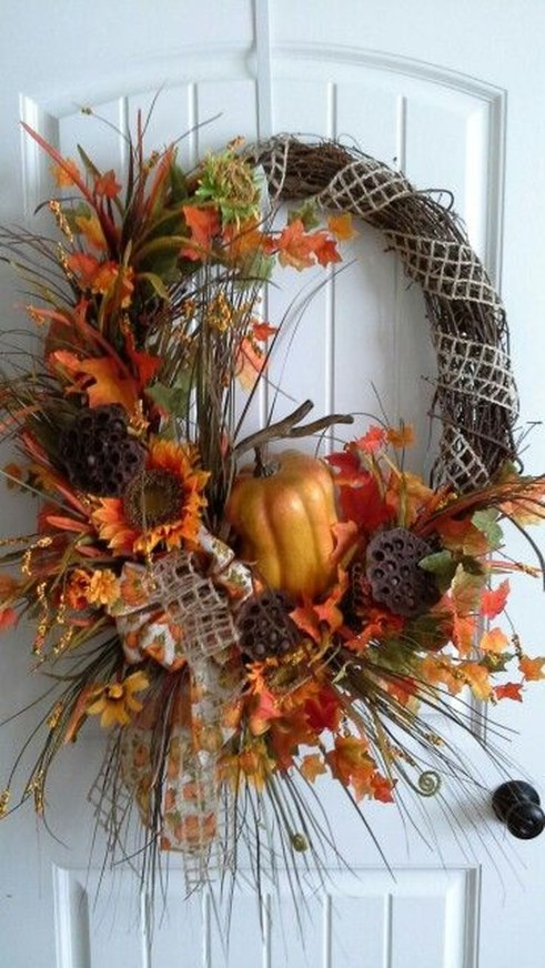 Cheap Iy Fall Wreaths Ideas23