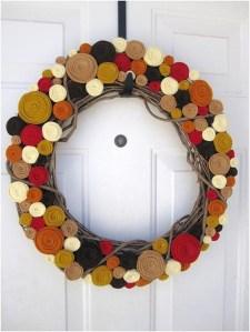 Cheap Iy Fall Wreaths Ideas37