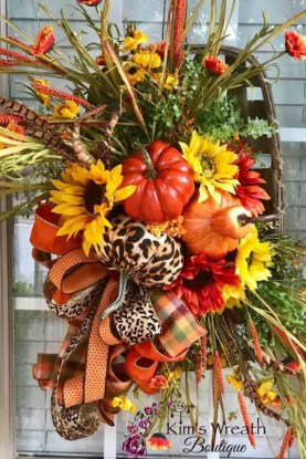 Cheap Iy Fall Wreaths Ideas38