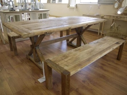 Creative Wooden Dining Tables Design Ideas01