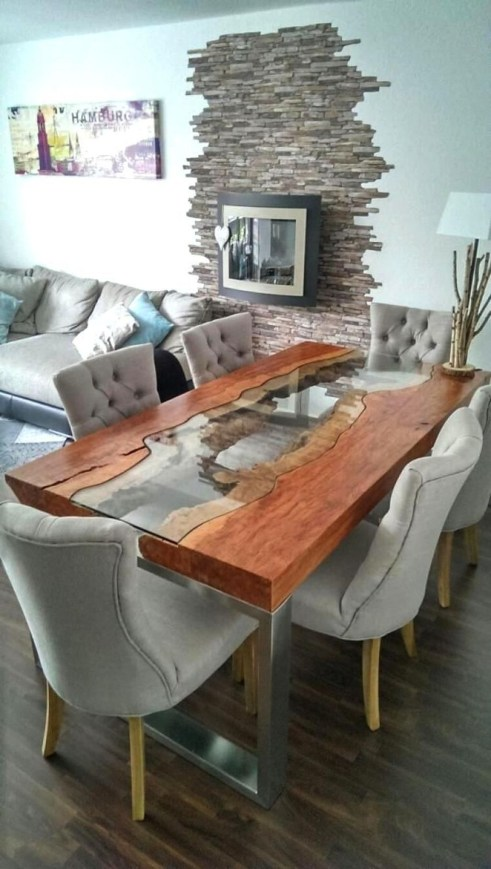 Creative Wooden Dining Tables Design Ideas11