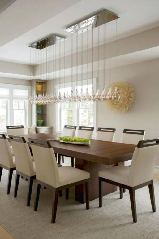 Creative Wooden Dining Tables Design Ideas25