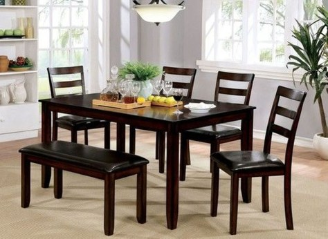 Creative Wooden Dining Tables Design Ideas31