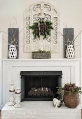Fantastic Winter Mantle Decoration Ideas01
