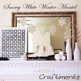 Fantastic Winter Mantle Decoration Ideas14