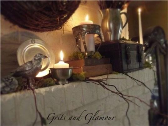 Fantastic Winter Mantle Decoration Ideas36