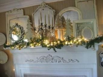 Fantastic Winter Mantle Decoration Ideas41