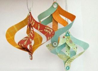 Gorgeous Fun Colorful Paper Decor Crafts Ideas02