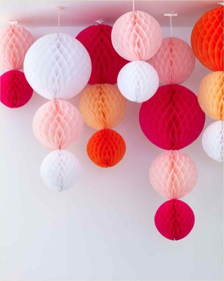 Gorgeous Fun Colorful Paper Decor Crafts Ideas03