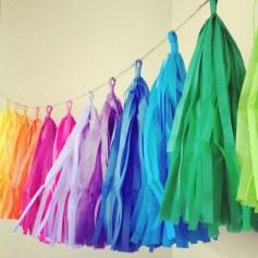 Gorgeous Fun Colorful Paper Decor Crafts Ideas12