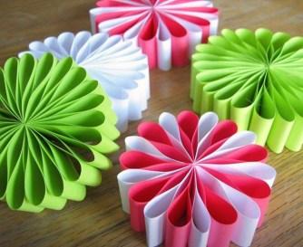 Gorgeous Fun Colorful Paper Decor Crafts Ideas25